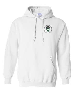 1st Special Operations Command (PARA) Embroidered Hooded Sweatshirt
