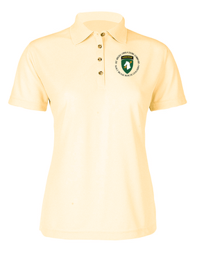 1st Special Operations Command (C) Ladies Embroidered Moisture Wick Polo Shirt