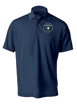1st Special Operations Command (PARA) Embroidered Moisture Wick Shirt