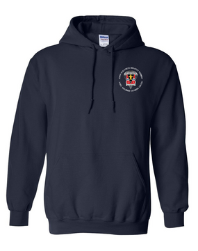 509th JRTC Embroidered Hooded Sweatshirt