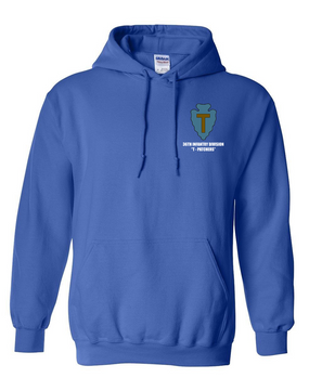 "36th Infantry Division ""T-Patchers"" Embroidered Hooded Sweatshirt"