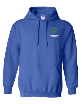 36th Infantry Division Embroidered Hooded Sweatshirt