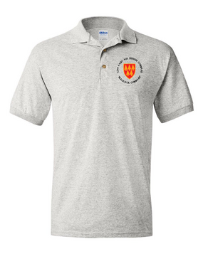 32nd Army Air Defense Command (C) Embroidered Cotton Polo Shirt
