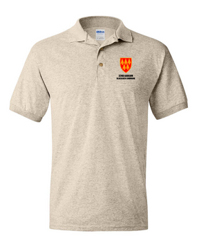 32nd Army Air Defense Command  Embroidered Cotton Polo Shirt