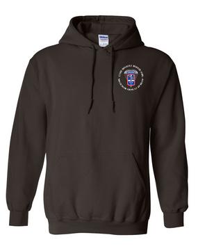 172nd Infantry Brigade (Airborne) (C)  Embroidered Hooded Sweatshirt