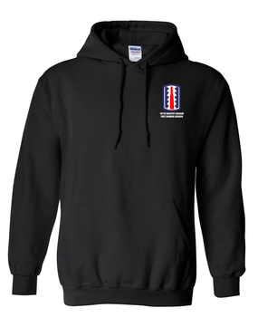 197th Infantry Brigade Embroidered Hooded Sweatshirt
