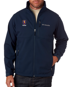 1st Aviation Brigade Embroidered Columbia Ascender Soft Shell Jacket