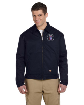 172nd Infantry Brigade (Airborne)  (C) Embroidered Dickies 8 oz. Lined Eisenhower Jacket
