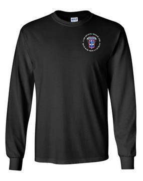172nd Infantry Brigade (Airborne)  (C) Long-Sleeve Cotton T-Shirt
