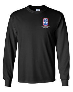 "172nd Infantry Brigade ""Snow Hawks""  Long-Sleeve Cotton T-Shirt"