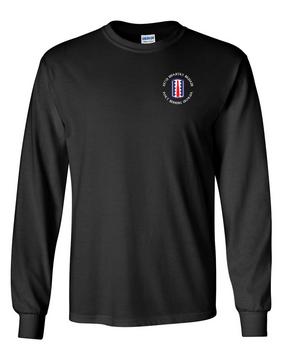 197th Infantry Brigade (C) Long-Sleeve Cotton T-Shirt