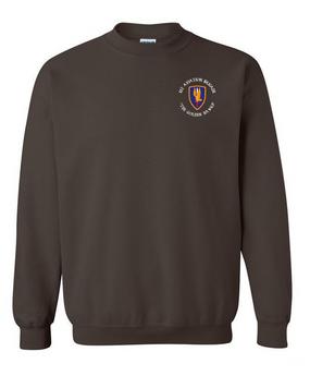 1st Aviation Brigade (C)  Embroidered Sweatshirt