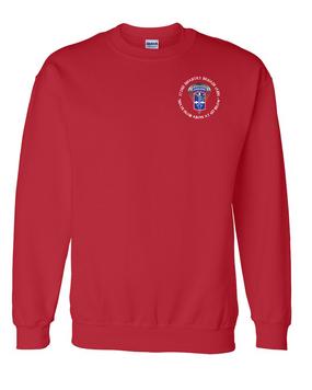 172nd Infantry Brigade (Airborne) (C)  Embroidered Sweatshirt