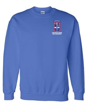 172nd Infantry Brigade (Airborne) Embroidered Sweatshirt
