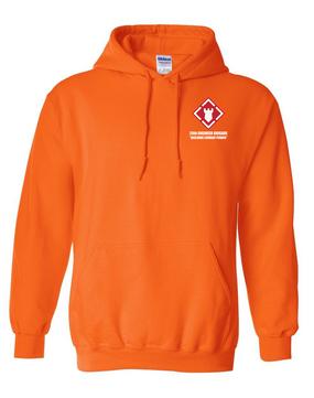 20th Engineer Brigade Embroidered Hooded Sweatshirt