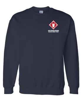 20th Engineer Brigade Embroidered Sweatshirt