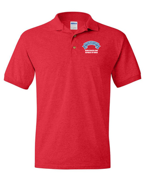 Joint Security Area (JSA) Embroidered Cotton Polo Shirt