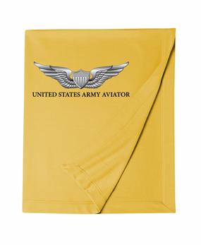 US Army Aviator Embroidered Dryblend Stadium Blanket