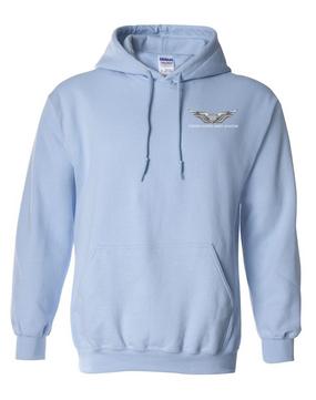 US Army Aviator Embroidered Hooded Sweatshirt