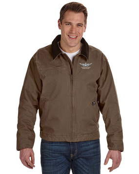 US Army Senior Aviator Embroidered DRI-DUCK Outlaw Jacket