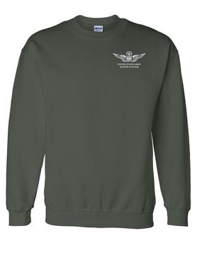 US Army Master  Aviator Embroidered Sweatshirt