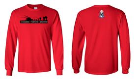 RED - Remember Everyone Deployed (505)  Long-Sleeve Cotton T-Shirt