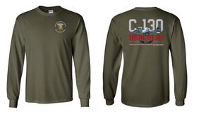"407th Brigade Support Battalion ""C-130"" Long Sleeve Cotton Shirt"