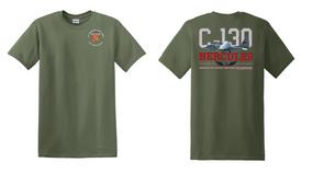 "319th Airborne Field Artillery Regiment ""C-130"" Cotton Shirt"