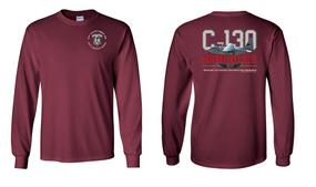 "82nd Aviation Brigade ""C-130""  Long Sleeve Cotton Shirt"