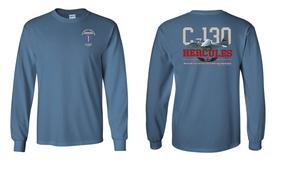 "193rd Infantry Brigade (Airborne)  ""C-130""  Long Sleeve Cotton Shirt"