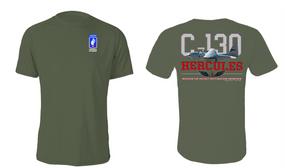 "173rd Airborne Brigade  ""C-130"" Cotton Shirt"