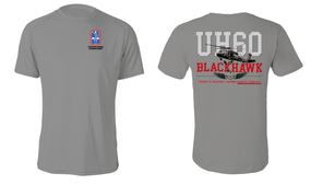 "172nd Infantry Brigade (Blackhawk)  ""UH-60"" Cotton Shirt"