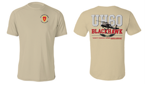 "26th Infantry Regiment  ""UH-60"" Long Sleeve Cotton Shirt"