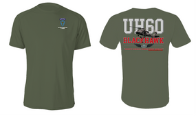 """36th Infantry Division (Airborne)  """"UH-60"""" Cotton Shirt"""