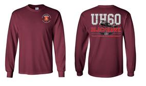 "782nd Maintenance Battalion ""UH-60"" Long Sleeve Cotton Shirt"