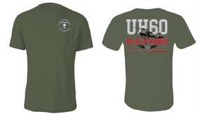 "313th MI Battalion (Airborne) ""UH-60"" Cotton Shirt"
