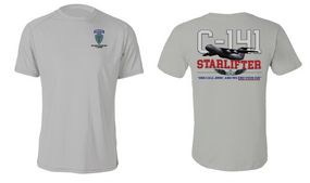 """36th Infantry Division (Airborne)  """"C-141 Starlifter"""" Cotton Shirt"""