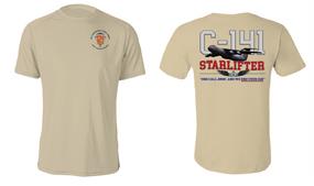 """319th Airborne Field Artillery Regiment  """"C-141 Starlifter"""" Cotton Shirt"""