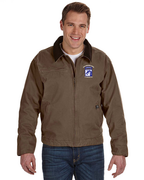 18th Airborne Corps (2) Embroidered DRI-DUCK Outlaw Jacket