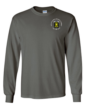 509th Parachute Infantry Regiment (C)  Long-Sleeve Cotton T-Shirt