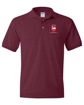 Kentucky Chapter (V1)  Embroidered Cotton Polo Shirt