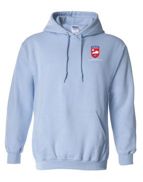 Kentucky Chapter (V1)  Embroidered Hooded Sweatshirt