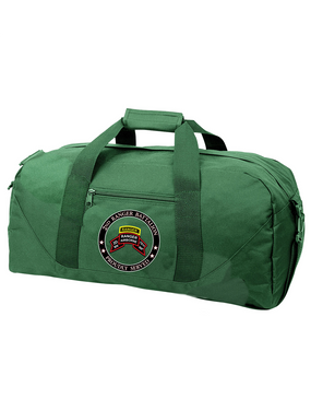 """2-75th Ranger Battalion (Original)-Tab-  """"Proudly Served"""" Embroidered Duffel Bag"""