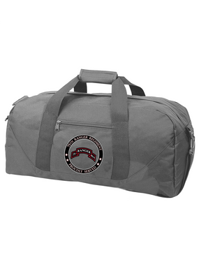 """75th Ranger Regiment  """"Proudly Served"""" Embroidered Duffel Bag"""
