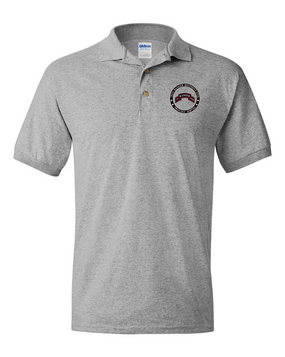 """75th Ranger Regiment (STB) """"Proudly Served"""" Embroidered Cotton Polo Shirt"""
