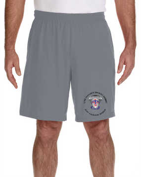 2-501st PIR Embroidered Gym Shorts