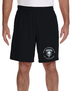 313th MI Battalion (Airborne) Embroidered Gym Shorts