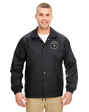 101st Airborne Division (C) Embroidered Windbreaker