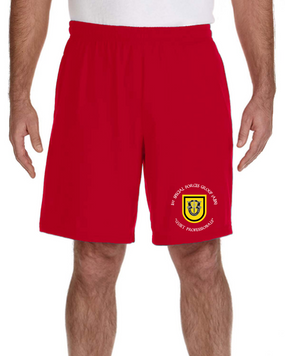 1st Special Forces Group Embroidered Gym Shorts