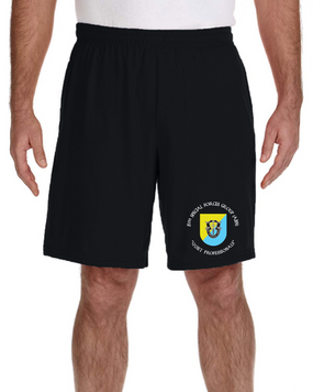 8th Special Forces Group Embroidered Gym Shorts